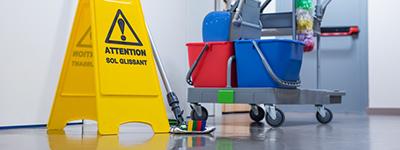 Büroreinigung und Gebäudepflege