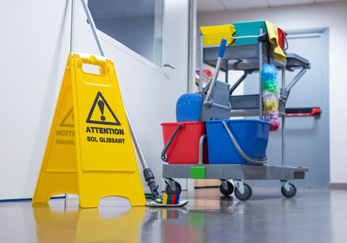 Reinigungsdienste für Büros